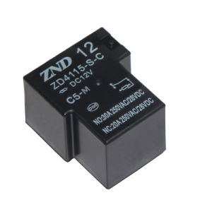 Zd4115 (T90) 5pins Miniature Electromagmetic Power Relay for Industries Machine Use pictures & photos