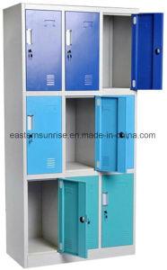 Quality Cheap 9 Door Metal Steel Iron Storage Locker/Cabinet/Wardrobe pictures & photos