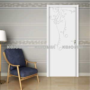 Moisture-Proof WPC High Quality Long-Lasting Door for Toilet Bathroom (YM-066) pictures & photos