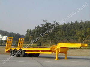 Heavy Equipment Transport Semi Trailer Manufacturer pictures & photos