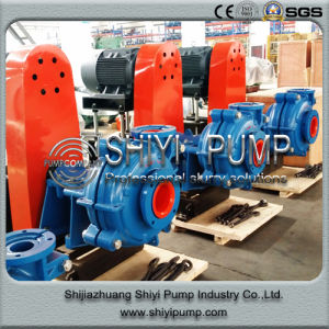Coal Washing Water Treatment Heavy Duty Slurry Centrifugal Pump with Metal Liner pictures & photos
