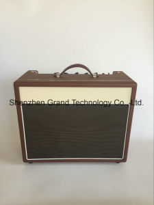 Tube Guitar Amplifier Combo with Brown Cream Tolex 15W (AT-15) pictures & photos