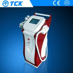 High Power IPL + Elight + Cavitation +RF +Vacuum System