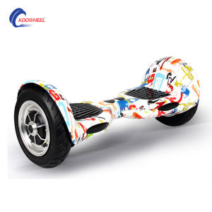 China Best Quality and Low Price Big Wheel 10 Inch 2 Wheel Self Balancing Scooter pictures & photos