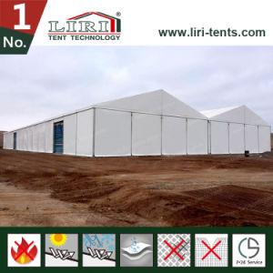 White PVC Fabric Semi Permanent Tent Ramadan Hajj Tent pictures & photos