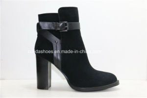 15fw High Heels Women Leather Boots for Sexy Fashion Lady pictures & photos