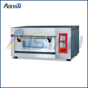Htr-101q Factory Price Timer Device 1 Layer-1 Tray Gas Deck Oven for Food Machine pictures & photos
