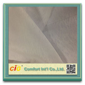 High Quality Wholesale Sheer Fabric 100% Polyester Dolly Curtain pictures & photos