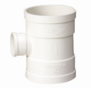 PVC Pipe Fittings for Water Drainage Reducing Tee (C07) pictures & photos