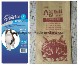Plastic Packaging PP Woven Bag for Cat Litter pictures & photos