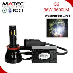 Dual Beam H4 H13 9004 9007 H4 LED Headlight Bulb 12V 55W 6000k LED Headlight pictures & photos