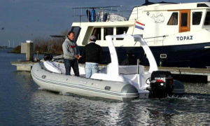 Aqualand 19feet 5.8m Rigid Inflatable Fishing Boat/Rib Motor Boat (RIB580S) pictures & photos