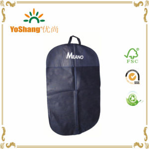 Customized Nonwoven Garment Suit Bag Cover, Promotional Suit Cover, Suit Cover pictures & photos