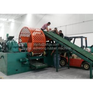 Waste Tire Recycling Line to Rubber Powder pictures & photos