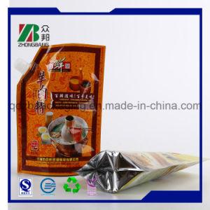 Food Grade Plastic Yogurt Bag with Corner Spout pictures & photos