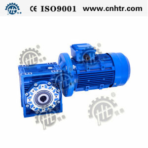 Nmrv Series Helical Worm Gear Reducer Two Solid Output