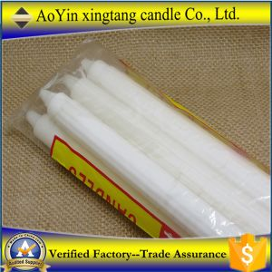 27g White Candle 1.5cm*18cm, with Buning 4hours Candle pictures & photos