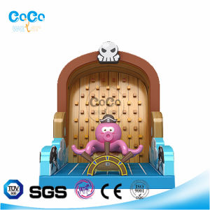 Cocowater Design Octopus Corsair Theme Inflatable Bouncer LG9023