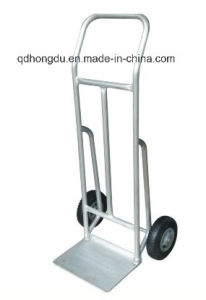 High Quality Steel Folding Hand Trolley (Ht1893) pictures & photos