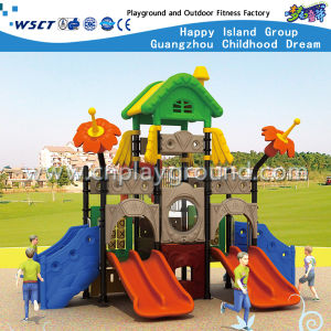 Outdoor Small Plastic Slide Playground Children Playsets HD-Tsh006 pictures & photos