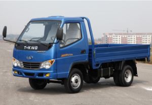 Good Price Light Duty Flat-Bed Truck for T-King Brand pictures & photos