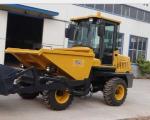 3.0ton Site Dumper with Self-Loading Bucket for Sale pictures & photos