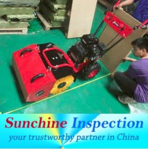 Snow Sweeper Inspection Service/Pre-Shipment Inspection pictures & photos