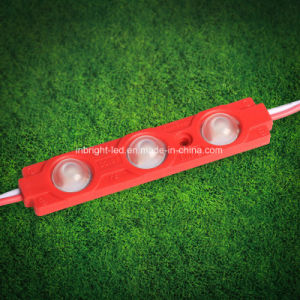 DC12V 2835 3 LEDs SMD LED Module Light with Lens---Main Production pictures & photos