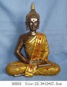 Polyresin Buddha Decoration (LE87-92033)