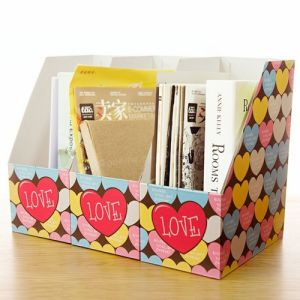 Fashion Color Cardboard Index File Box/Documents Box pictures & photos