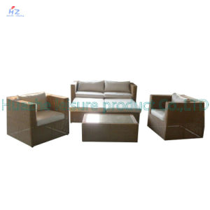 Wicker Sofa Outdoor Rattan Furniture Chair Table Wicker Furniture Rattan Furniture for Outdoor Furniture with Sofa Set pictures & photos