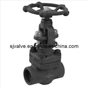 Forged Steel Threaded 800lb Globe Valve pictures & photos