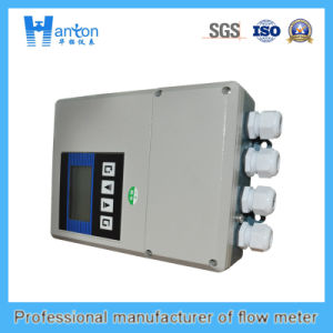 Hanton Carbon Steel Fixed Ultrasonic (Flow Meter) Flowmeter pictures & photos