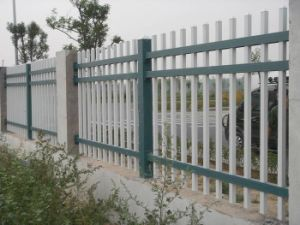 Wholesale & Low Price Black Powder Painted Steel Used Aluminum Fence