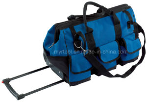 Hot Selling-Export 58L Mobile Tool Bag with Wheels 550*300*350mm pictures & photos