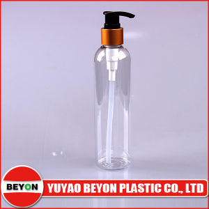 Empty 250ml Round Plastic Pet Bottle for Body Wash (ZY01-B062) pictures & photos