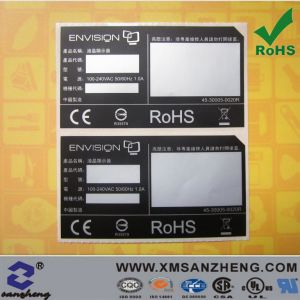 Silver Pet Electronic Namepalte Sticker (SZ14021) pictures & photos
