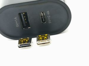 USB2.0-C Connector, USB-If Vid No. 5510, USB-If Tid No.: 5200000484, Durability: 10000 Cycles pictures & photos