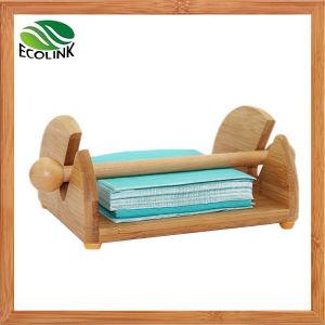 Bamboo Tissue Rack Paper Dispenser pictures & photos