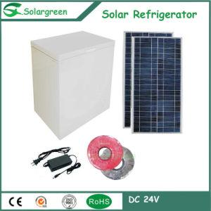 12/24V DC Compressor Solar Chest Deep Fridge Refrigerator Freezer pictures & photos