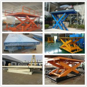 2m Llifting Height Hydraulic Scissor Lift Portable Scissor Lift pictures & photos