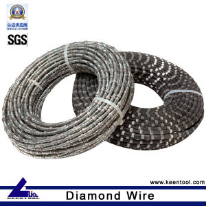 Spring Diamond Wire Saw for Marble Limestone Travertine (MDW-KT110) pictures & photos