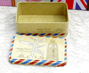 Delicate Tin Box/ Tin Gift Box/Wedding Box Customized Box Accept pictures & photos