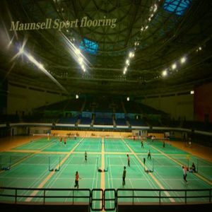 Sports Vinyl / Plastic Floor Surface Used for Badminton Courts pictures & photos