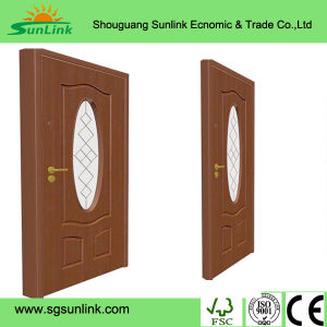 PVC Faced MDF Core Cabinet Door in Shouguang pictures & photos