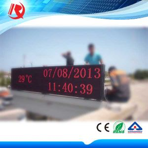 Single Red P10 Outdoor LED Display Sign pictures & photos