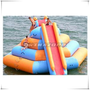 Hot Sale Tower Inflatable Water Slide with Climbing Handles