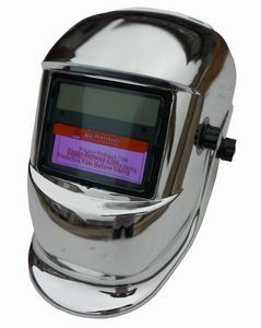 Auto Darkening Welding Helmet (Chrome)