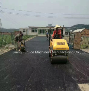 Super Quality Small Ride on Road Vibratory Roller (FYL-880) pictures & photos