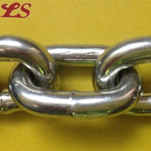 DIN766 Galivanized and Ungalivanized Iron Short Link Chain pictures & photos